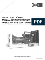 Manual de Operador y Mantto. Fg Wilson