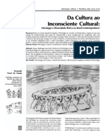 Inconsciente Cultural e Complexo Cultural
