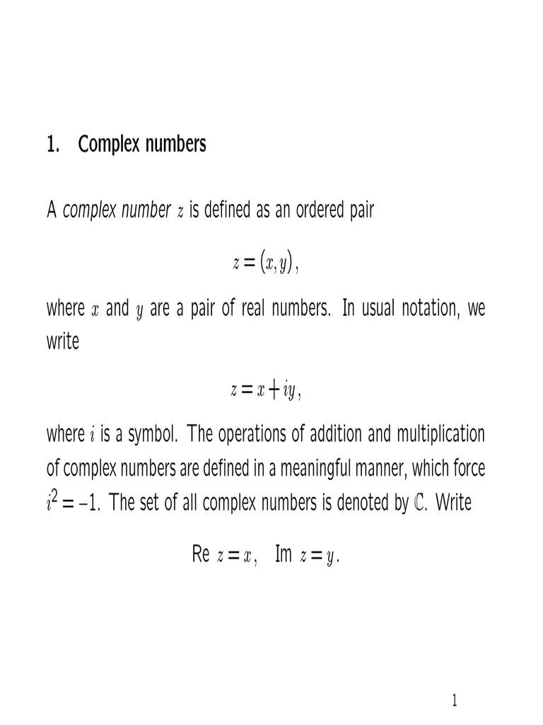 Inequalitypdf Trigonometric Functions Complex Number