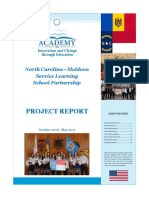 NC-M Service Learning School Partnership Project Report