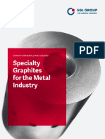 Specialty Graphites for the Metal Industry e