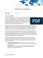 The Business Value of Software Asset Management