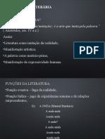 Gêneros Literários - 2