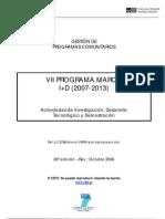 CDTI - Guía del VII Programa Marco I+D (2007-2013)