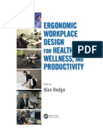 ERGONOMIC WORKPLACE DESIGN FOR HEALTH, WELLNESS, AND PRODUCTIVITY
