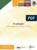 USO PEDAGOGICO DE LAS TIC´s