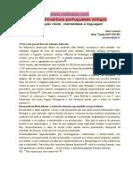 500 Provérbios Portugueses Antigos Educação Moral, Mentalidade e Linguagem