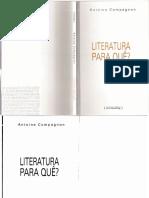 63453670-Literatura-pra-que-Antoine-Compagnon.pdf