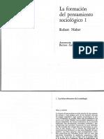 """Robert Nisbet, """"comunidad"""", en La formación del pensamiento sociológico, vol. 1."""
