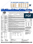 5.18.17 vs. CHA Game Notes