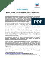 Executive Summary Economic Footprint Study Final Bahasa