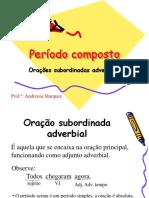 Subordinadas Adverbiais