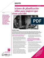 Planificacion Familiar Pacientes Hiv
