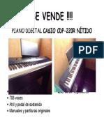 Imprimir Piano
