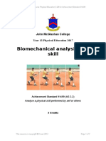 as 3 2 biomechanical analysis of a skill