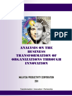 Analysis on the Business Transformation of Organizations Through Innovationlkjhg