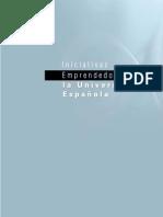 DGPYME – Iniciativas emprendedoras en la universidad española