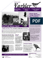 February 2008 Warbler Newsletter Portland Audubon Society