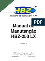 12248 Manual Manutencao HBZ 250 LX
