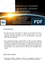 Utilizarea imaginilor satelitare în analiza mediului geografic