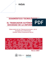 Diagnóstico Tecnológico Autónomos y SI 2007