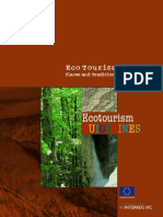 Eco Tourism - Places and Traditions