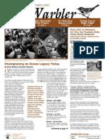 October 2008 Warbler Newsletter Portland Audubon Society