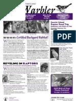 February 2009 Warbler Newsletter Portland Audubon Society