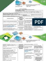 Guía de Actividad Segunda Etapa - Fuentes de Abastecimiento de Agua
