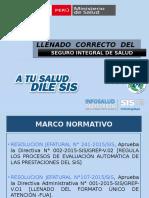 Correcto Llenado Del Fua - i Nivel-3