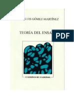 Teoría Del Ensayo_José Luis Gómez-Martínez