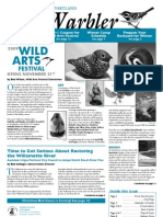 November 2009 Warbler Newsletter Portland Audubon Society