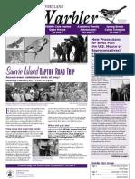 January-February 2010 Warbler Newsletter Portland Audubon Society
