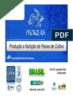 Introdução à Piscicultura no Brasil