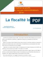 Fiscalit Locale - Mr BENHAMDOUCH