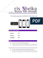 Sheiko Advanced Medium Load