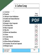Anorganische Chemie I-Kohlenstoffgruppe Englisch