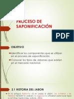 Proceso de Saponificación