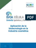 Aplicación de Biotecnología en La Industria Cosmética