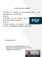 Atencion Tutorial Integral