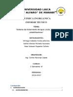 Planta Potabilizadora Informe