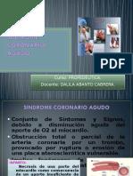 Teoría #10 - Sindorme Coronari Agudo (Dra Abanto)