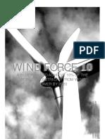 EÓLICA - Wind Force 10. Executive summary
