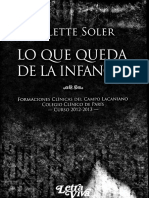 Soler El Niño en El Adulto