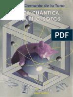 ALBERTO CLEMENTE DE LA TORRE - Física cuantica para filosofos.pdf