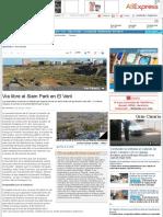 151001_Vía líbre al Siam Park en El Veril - La Provincia - Diario de Las Palmas