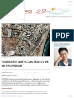 150908_Gobierno, Quita Las Manos de Mi Propiedad