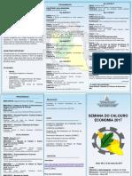 Folder II Semana Calouro 2017