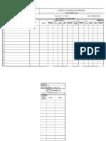 Formato Awc-0002-2014 Control de Asistencia de Personal