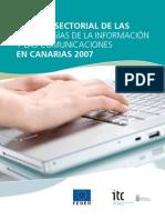 Estudio Sectorial de Las TIC en Canarias 2007